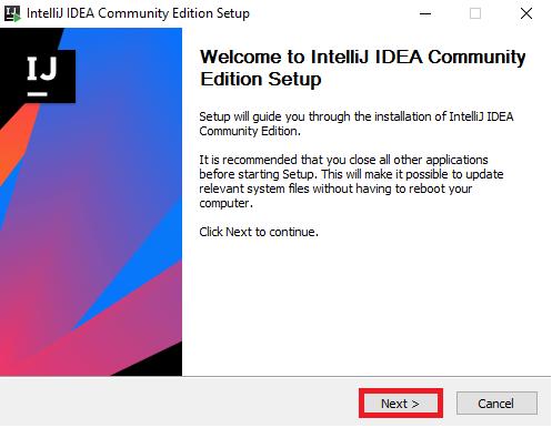 Setup — Intellij Manual 0 documentation